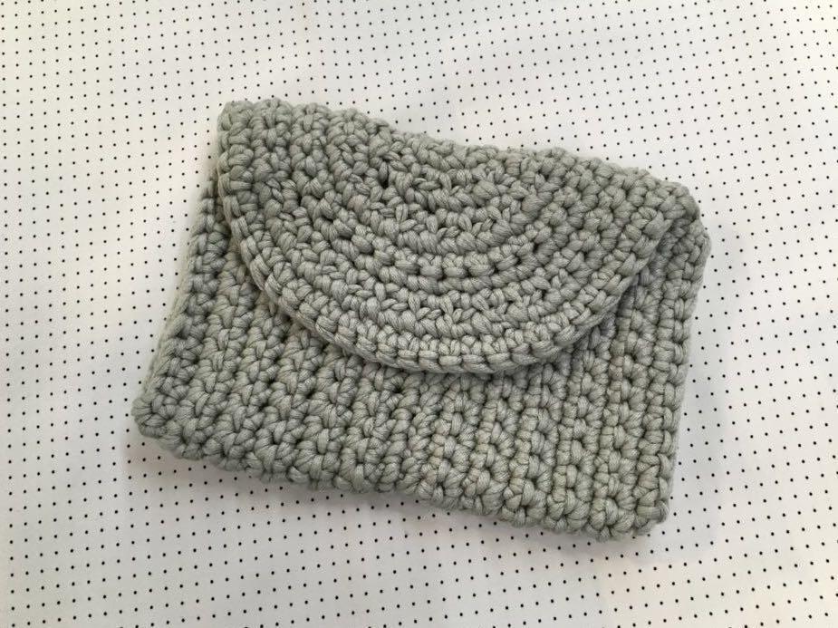 鈎織手袋斜揹袋 女裝手袋  crochet handbag 手作DIY