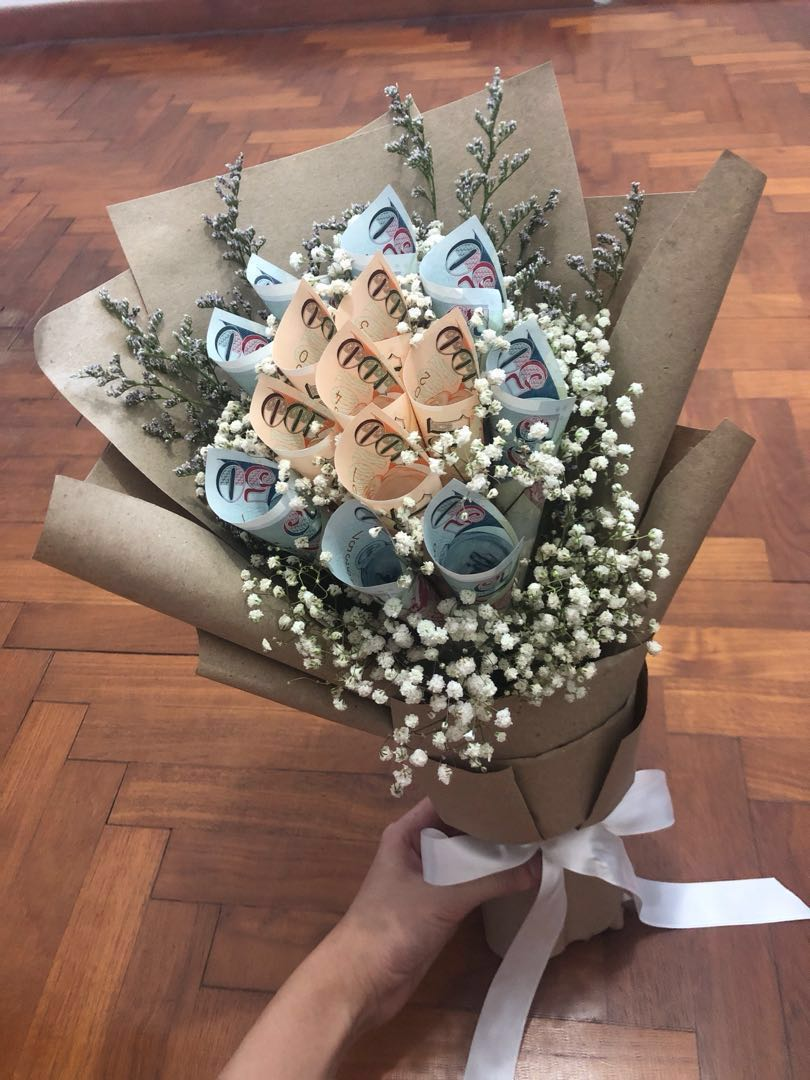 Unique Money Bouquet Gardening Flowers Bouquets On Carousell