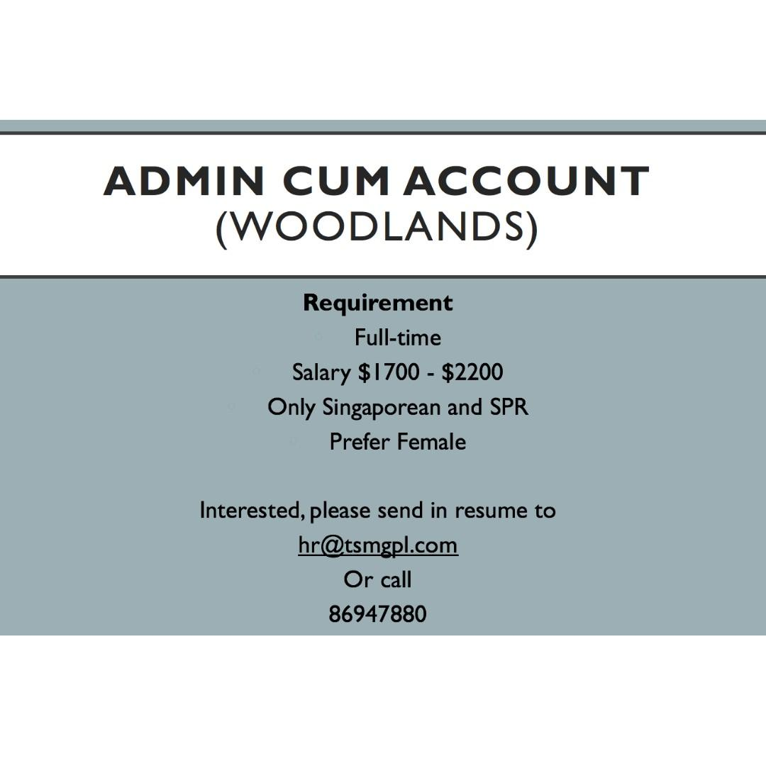 Admin cum Account Executive