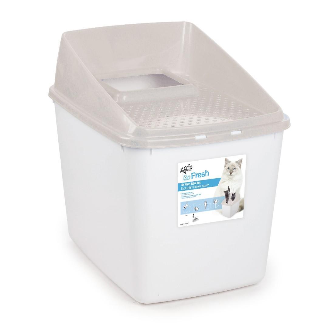 AFP Go Fresh No Mess Litter Box