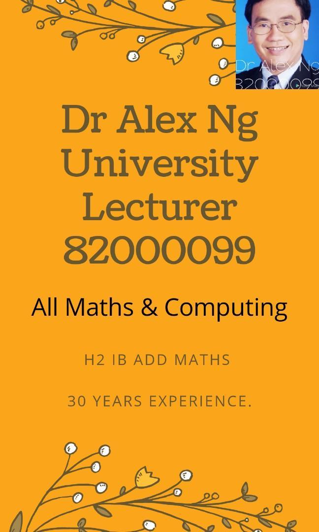All Maths & Computing Tuition