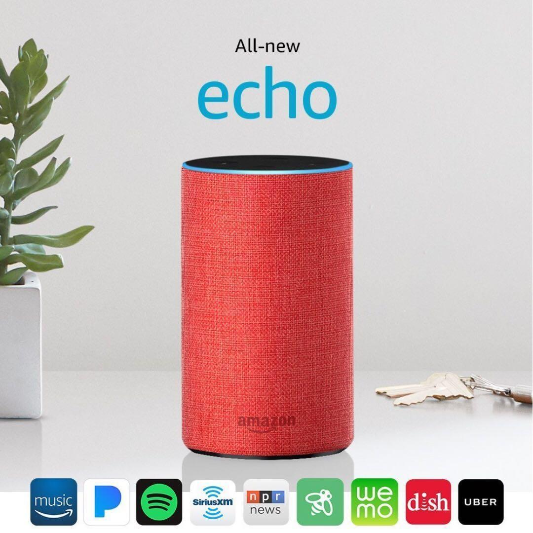 All-new Echo (2nd Generation), (RED) edition