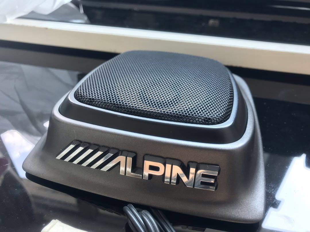 Alpine 汽車用中音(一隻)