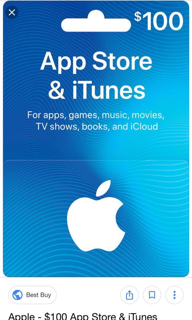 apple itune card