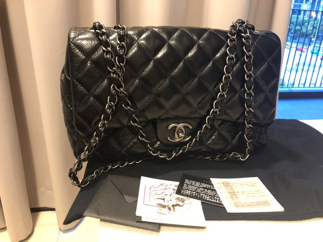 67ba57e8fd8527 Authentic Chanel classic jumbo, Luxury, Bags & Wallets, Handbags on ...