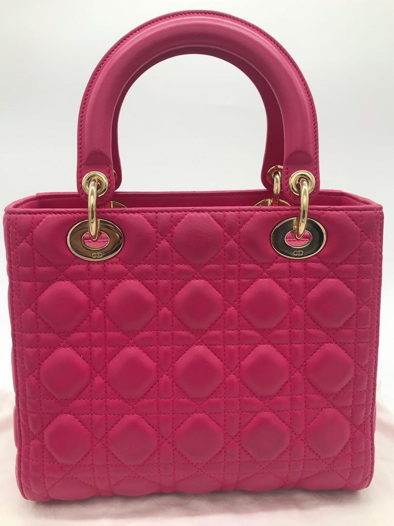Authentic Lady Dior Womens bag in Excellent condition