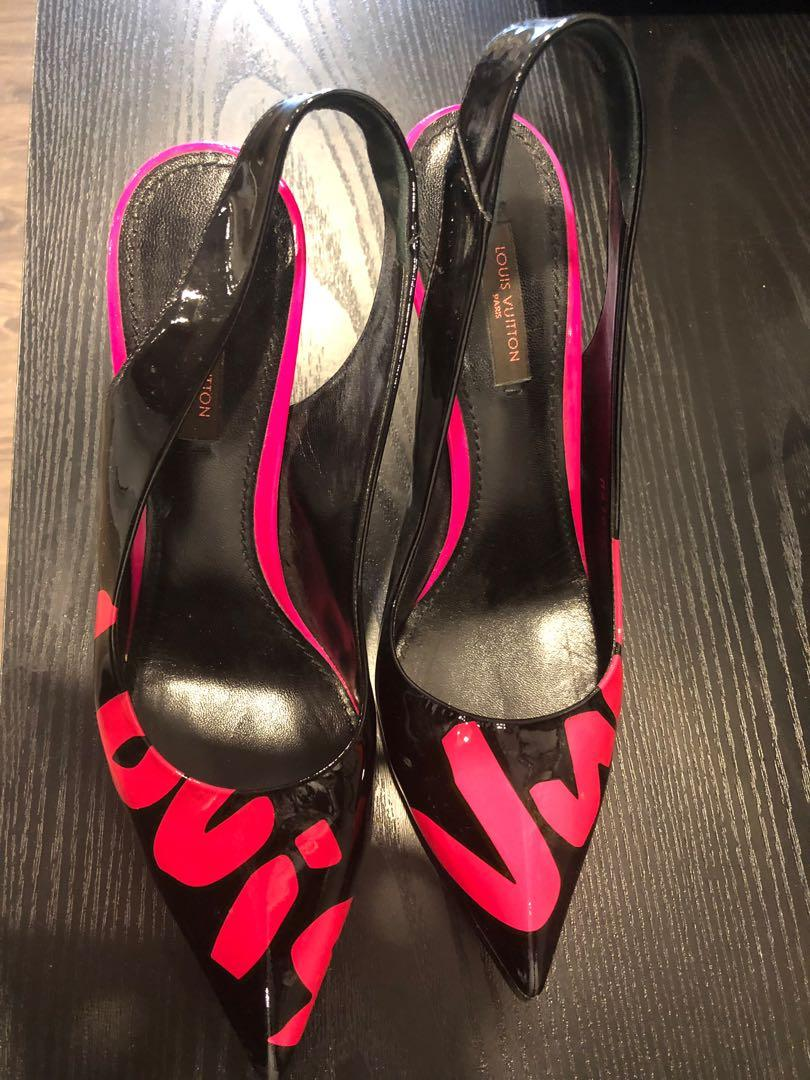 Authentic Patent Leather Louis Vuitton shoes in perfect condition
