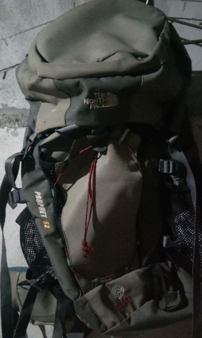 #BAPAU carrier/tas gunung The north Face 65liter