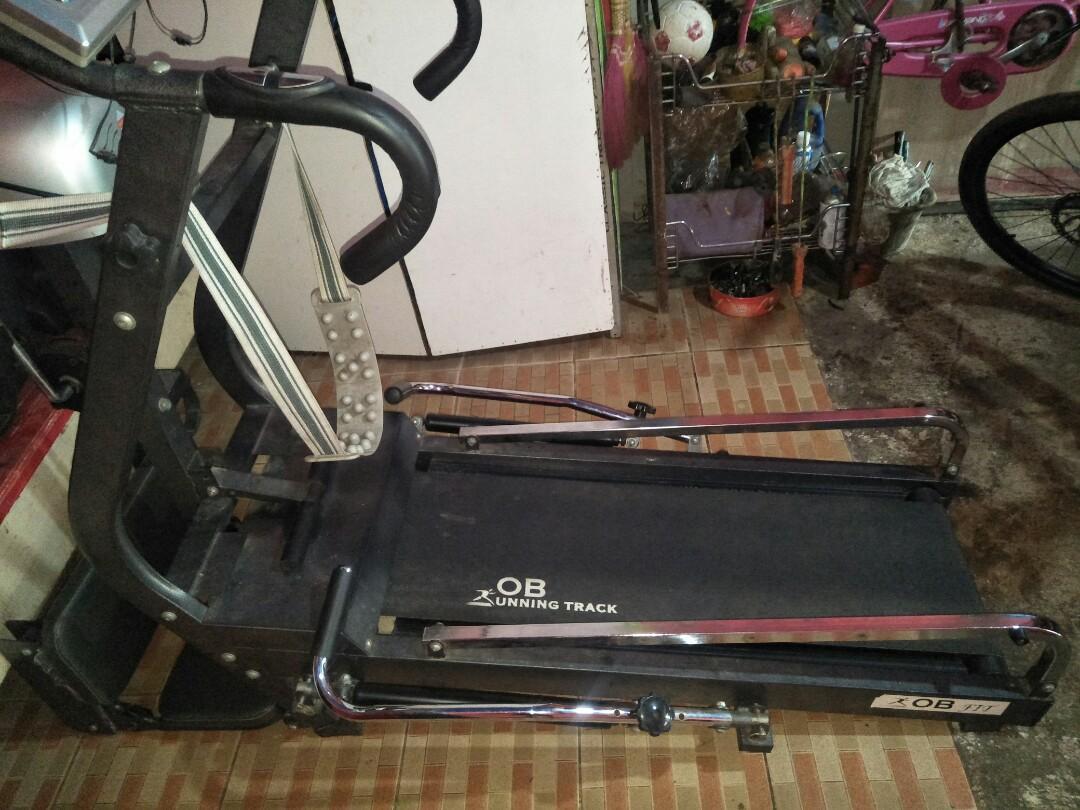 #BAPAU jual treadmill ob fit 5 in 1bu turun harga