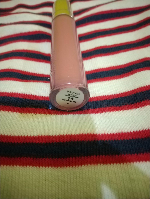 #Bapau Wardah Exclusive Matte Lip Cream No.14