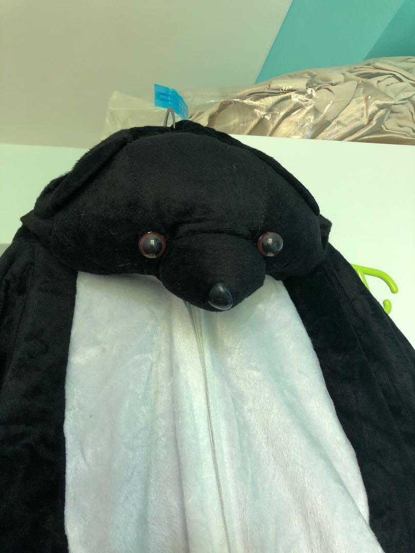 Bear costume romper