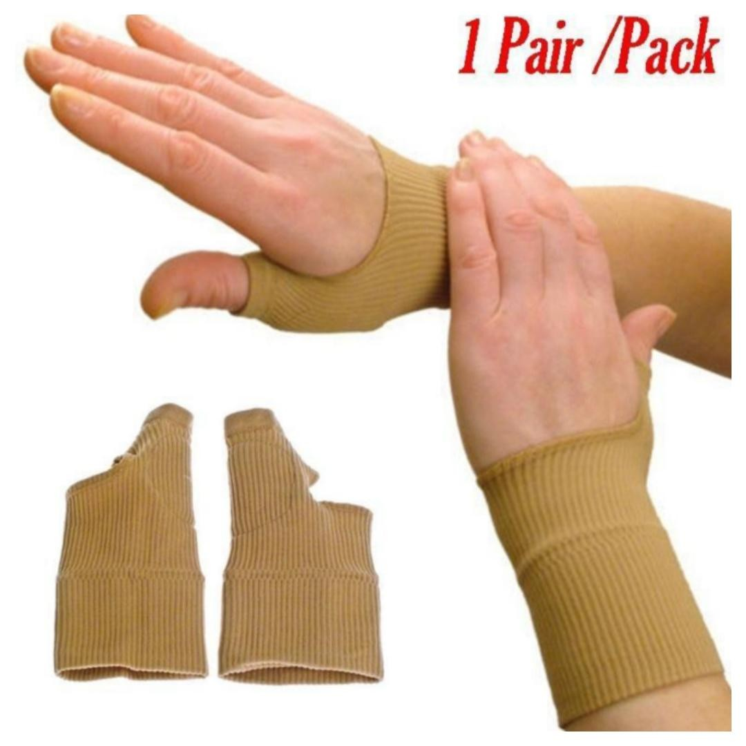 👍👍Best Buy for 1 pair Therapy Gloves Gel Filled Thumb Hand Wrist Gloves  Support Arthritis Compression  Usual Price :$19 90  Now : $9 90 +FREE