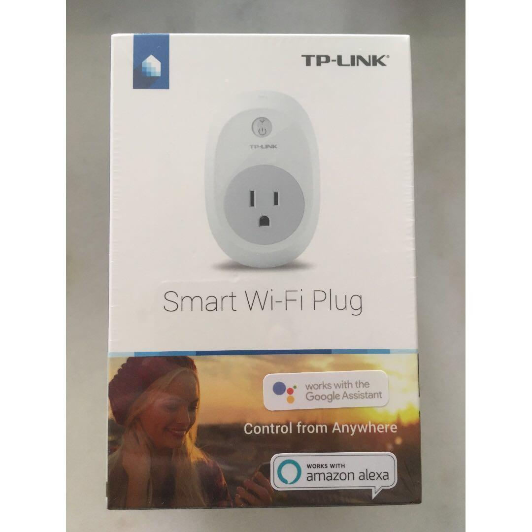 [BNIB] TP-Link Smart Plug, No Hub Required, Wi-Fi, Control your Devices from Anywhere, Works with Alexa and Google Assistant (HS100)
