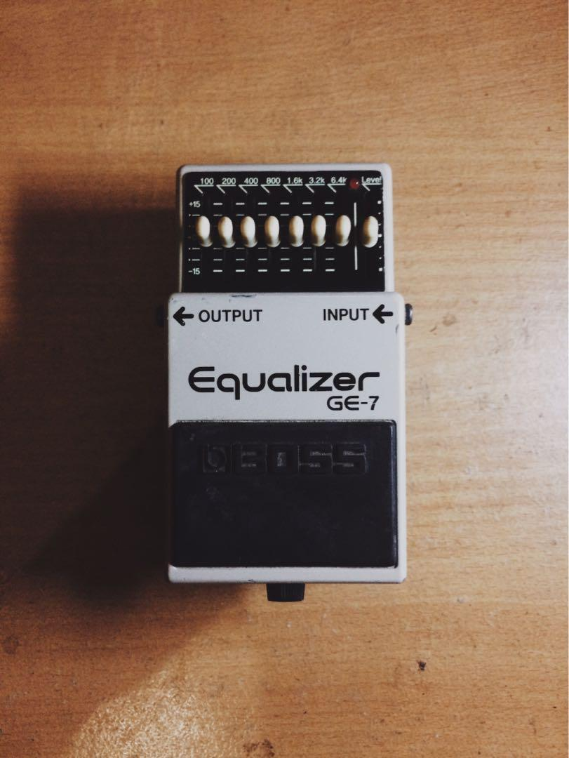 BOSS GE-7 / GE7 Equalizer Pedal