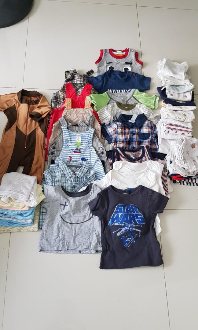 Boys Clothes (3 to 6 months or up to 9 mths)