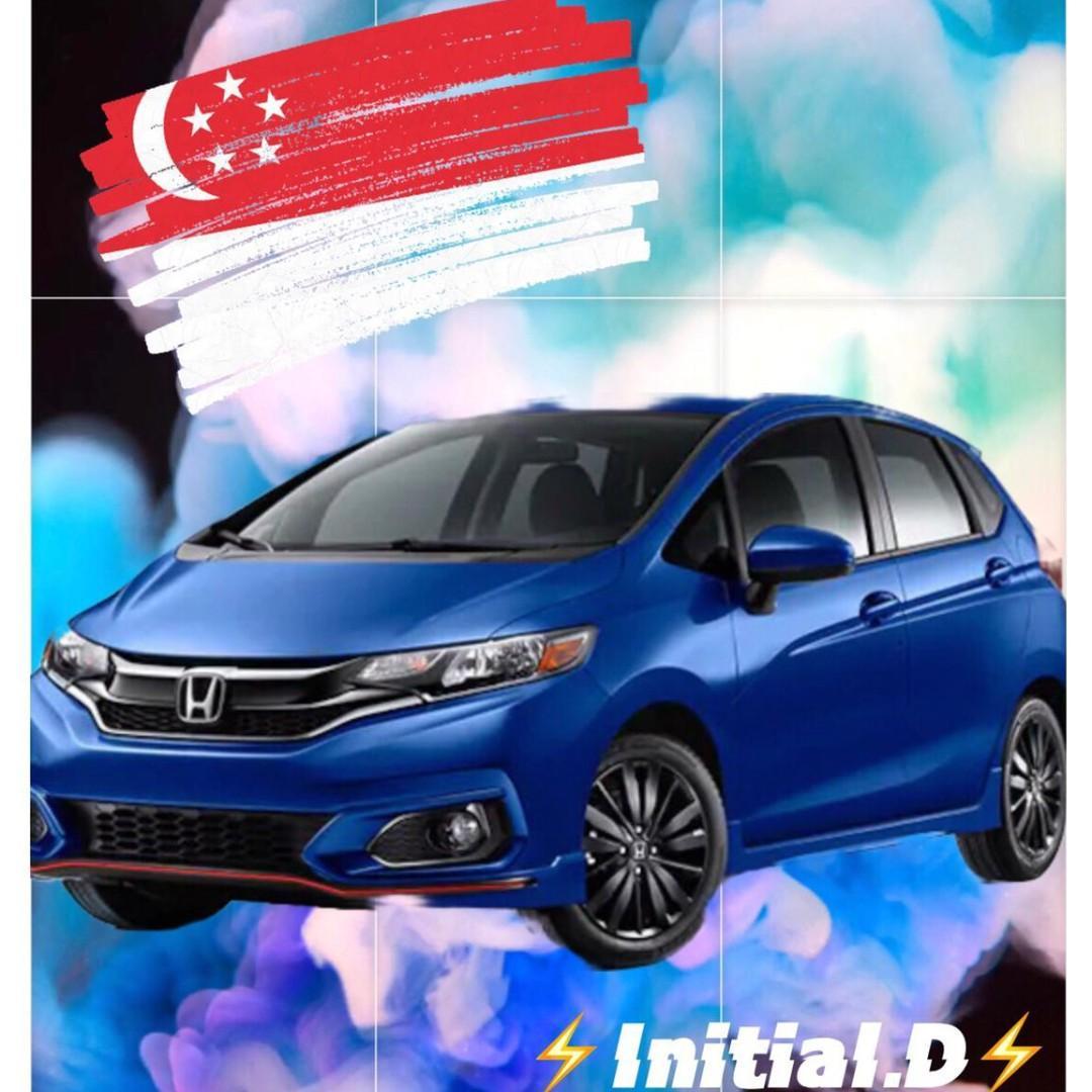 Brand New Honda Fit Super Big Internal Storage