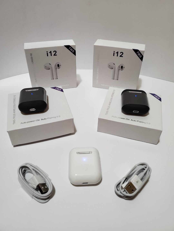 Brand Newi12 Tws V5.0 Wireless Earbuds Mini Earphones