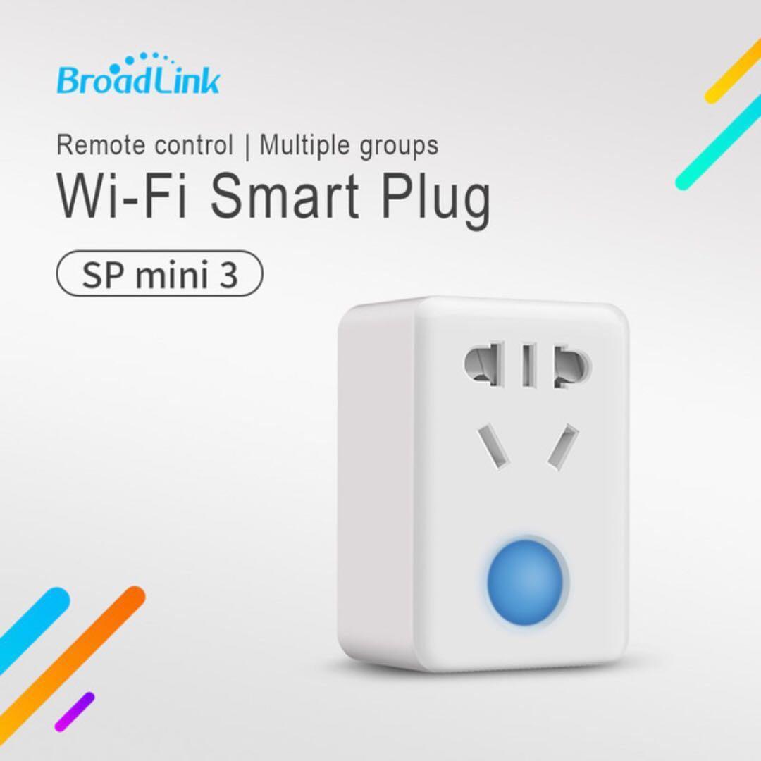 BroadLink Smart Sockets SP mini 3 (Type I standard)