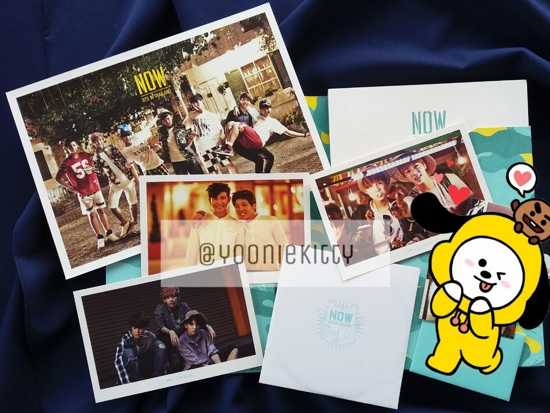 [WTS] BTS NOW IN THAILAND (FULL SET)