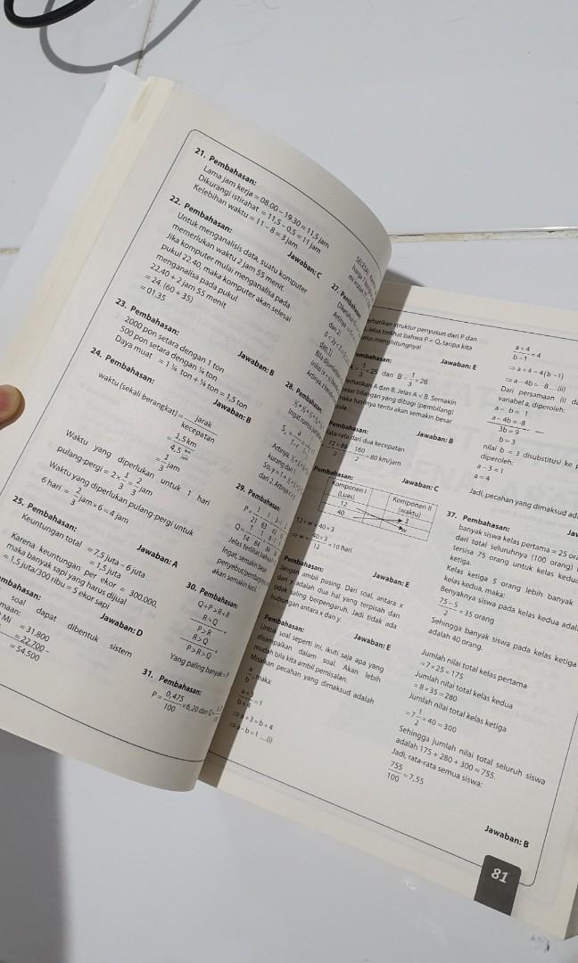 Buku Soal TPA versi OTO Bappenas (buat tes simak UI)
