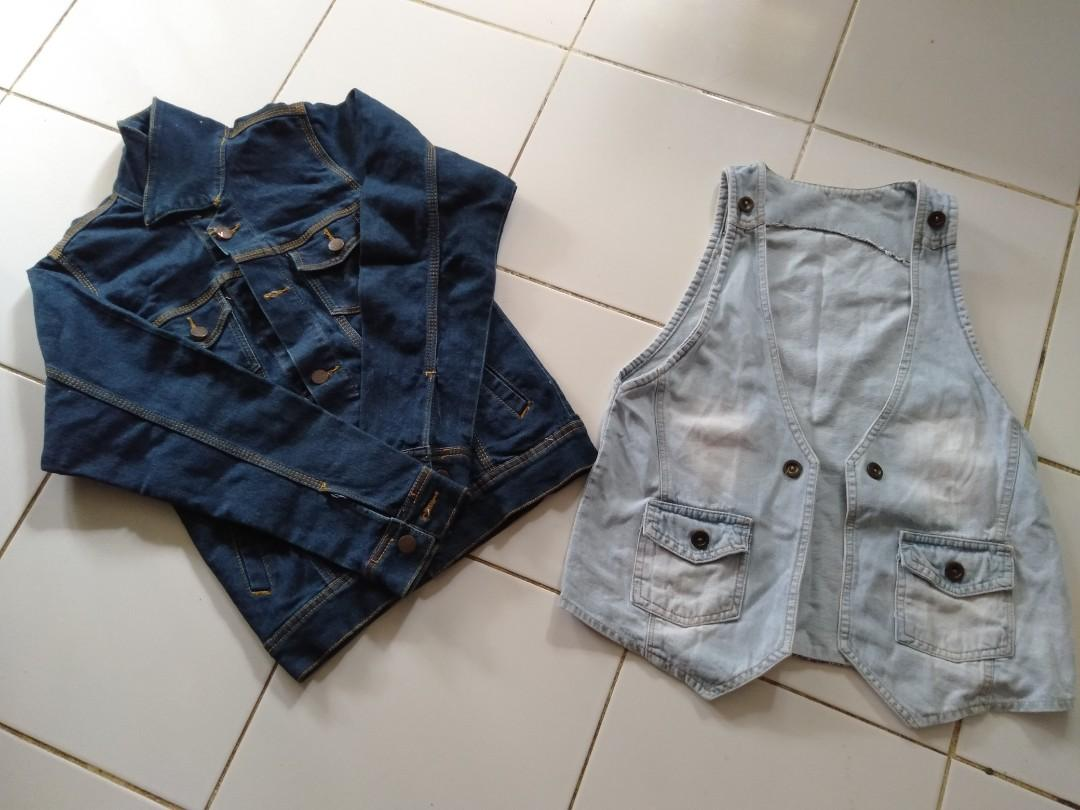 Bundle jaket+rompi