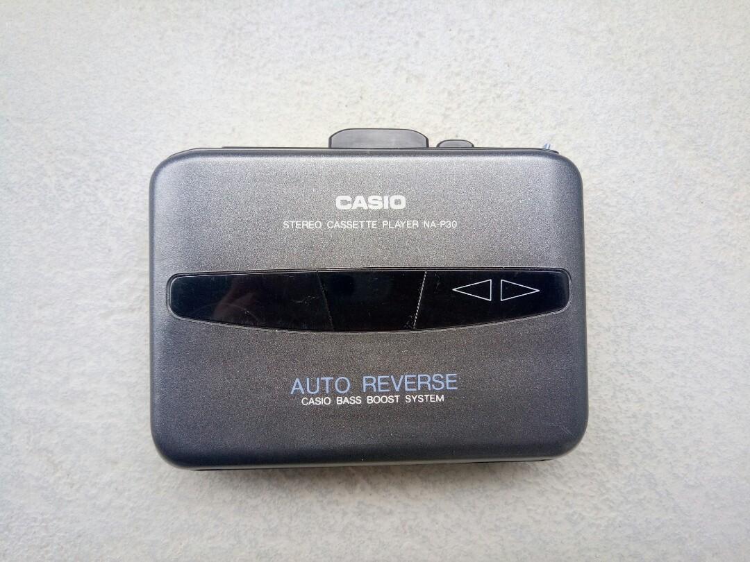 Casio Walkman cassette 機 唱帶機 錄音機 卡式機