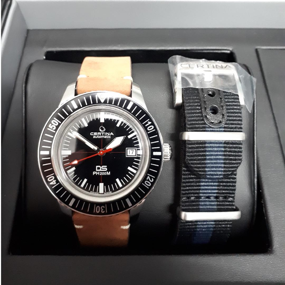 Certina DS PH200M dive watch