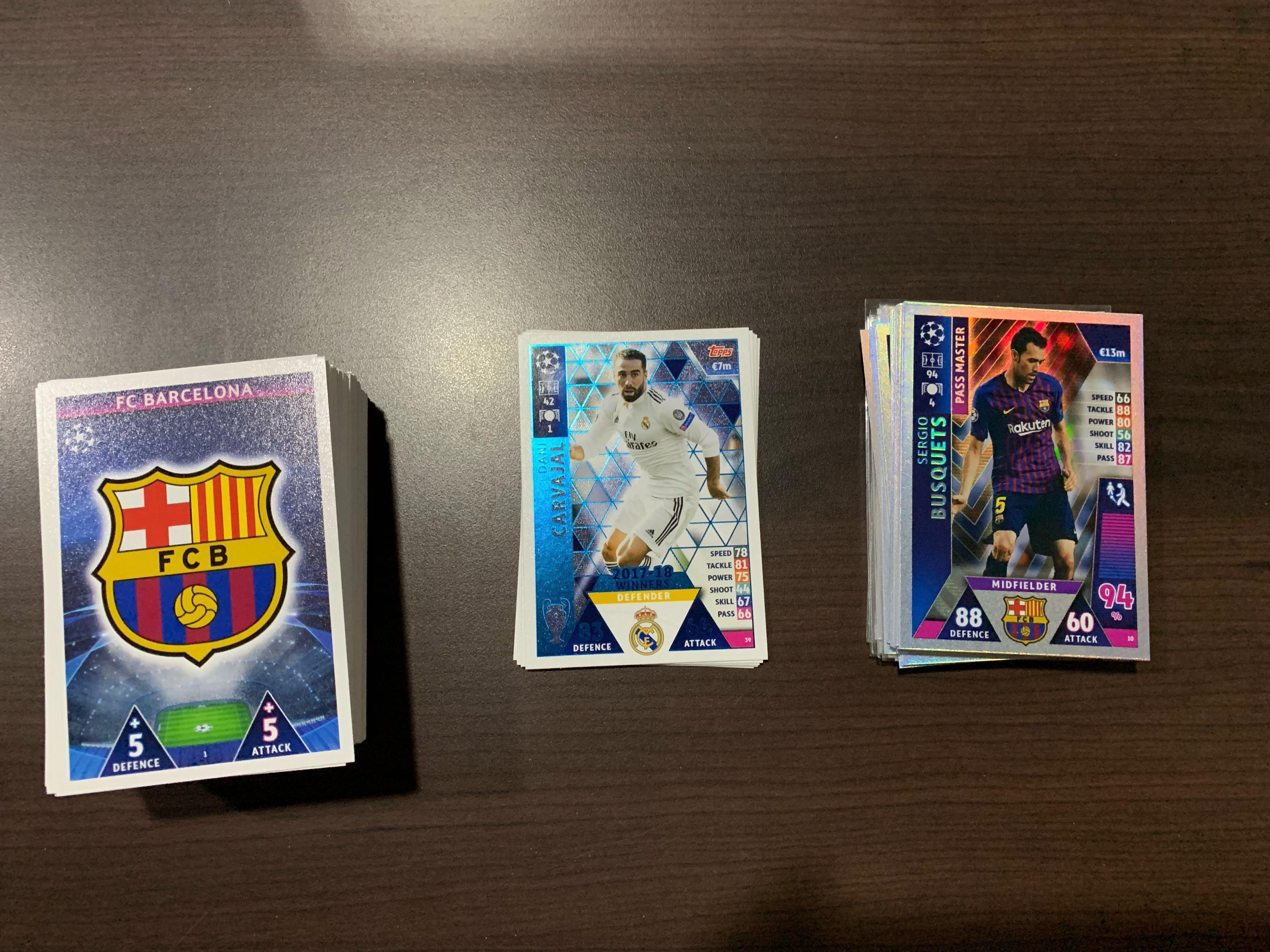 Clearance sale! Match attax 18/19 EPL/EPL extra/UCL/UCL RTM