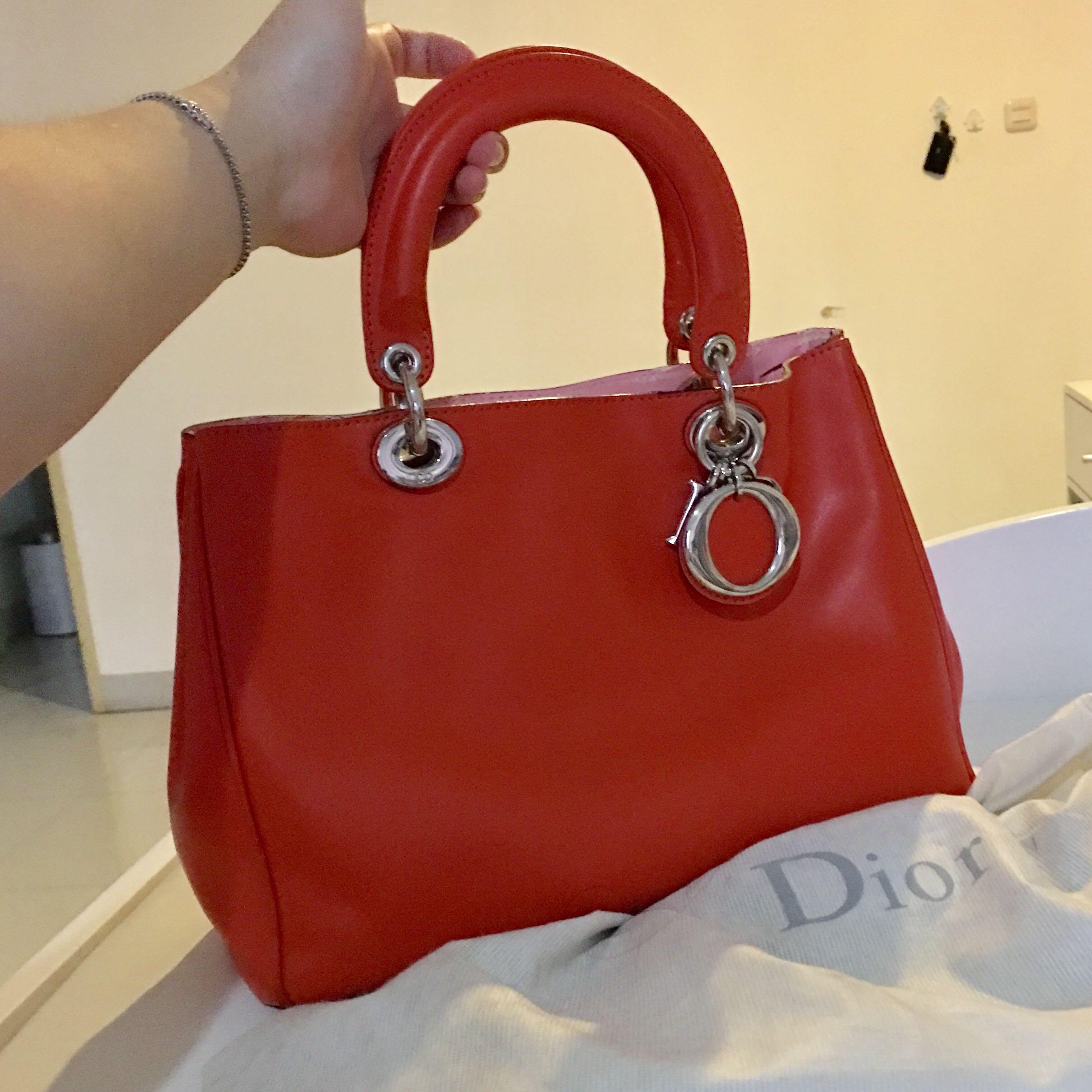 Dior diorissomo bag small premium (NOT authentic)