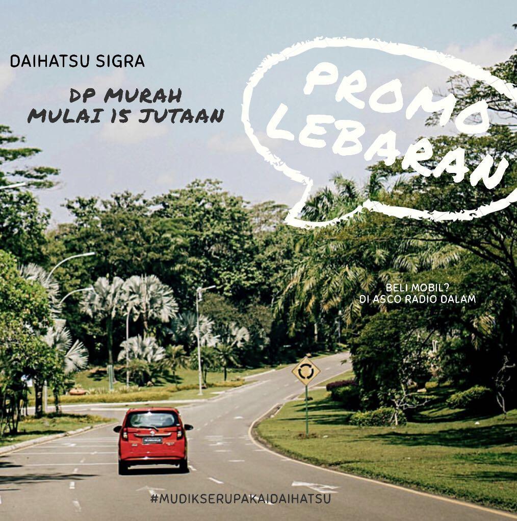 DP MURAH Daihatsu Sigra mulai 15 jutaan. Daihatsu Pamulang