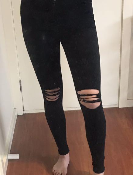 DrDenim ripped jeans