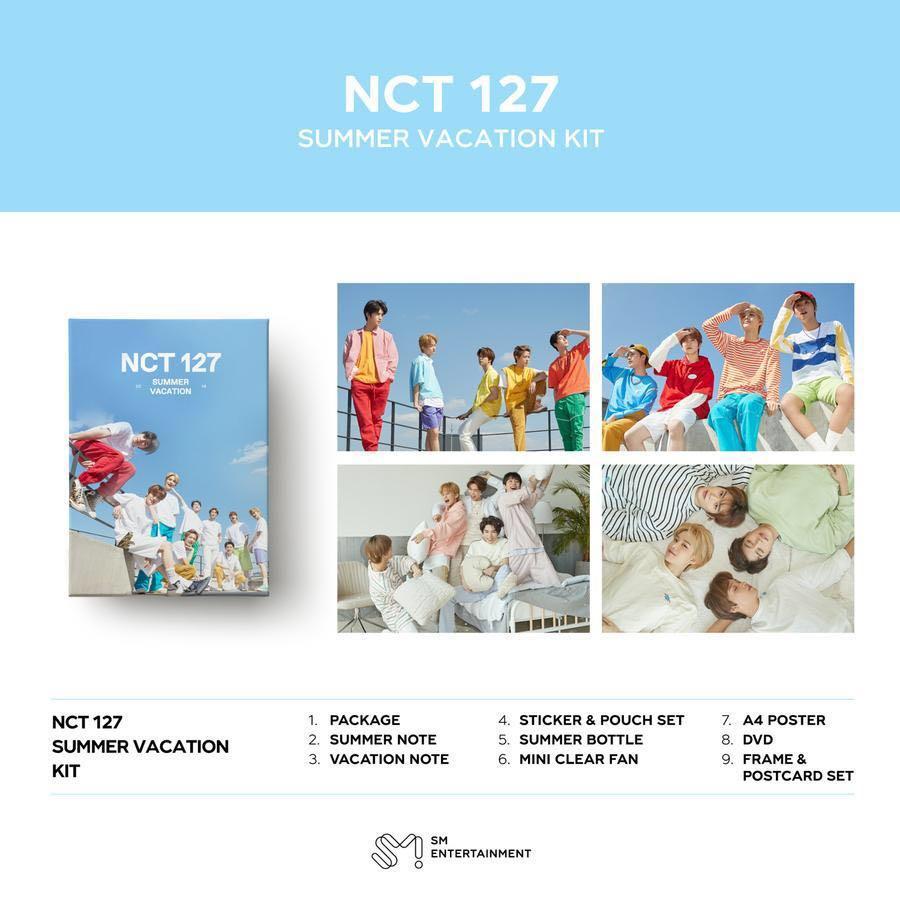 [EMS PO] NCT 127 - 2019 Summer Vacation Kit