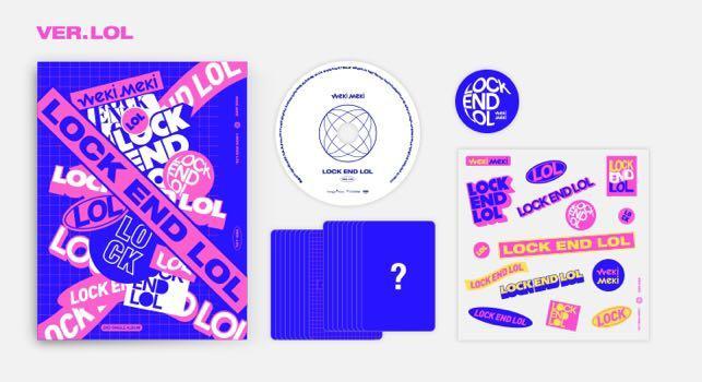 [EMS PO] Weki Meki 2nd Single Album - LOCK END