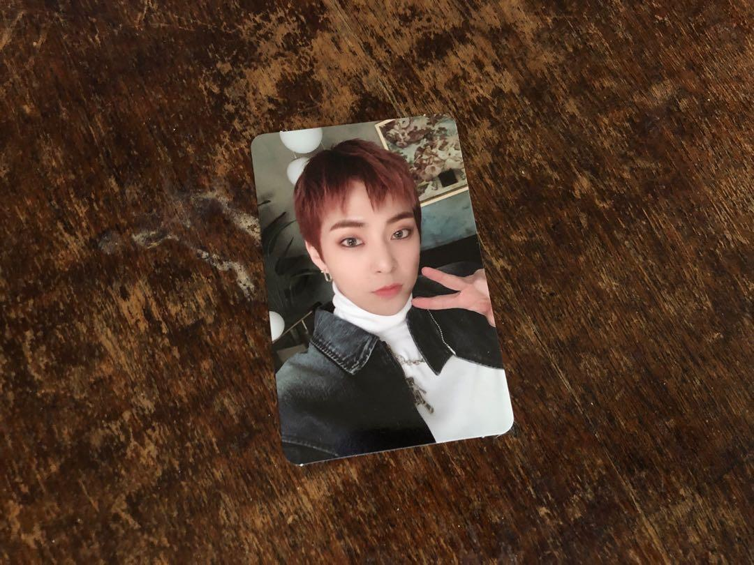 EXO XIUMIN DON'T MESS UP MY TEMPO VIVACE PHOTOCARD
