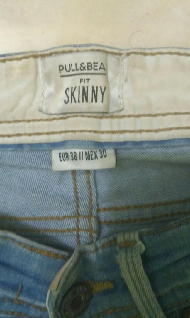 Fit skinny PULL&BEAR  #BAPAU