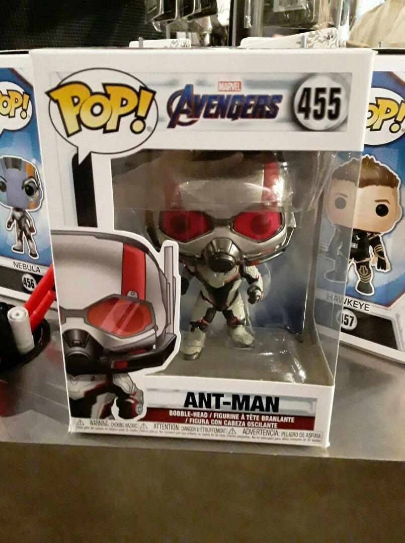 Funko Pop Avengers Endgame Ant Man 455 On Carousell