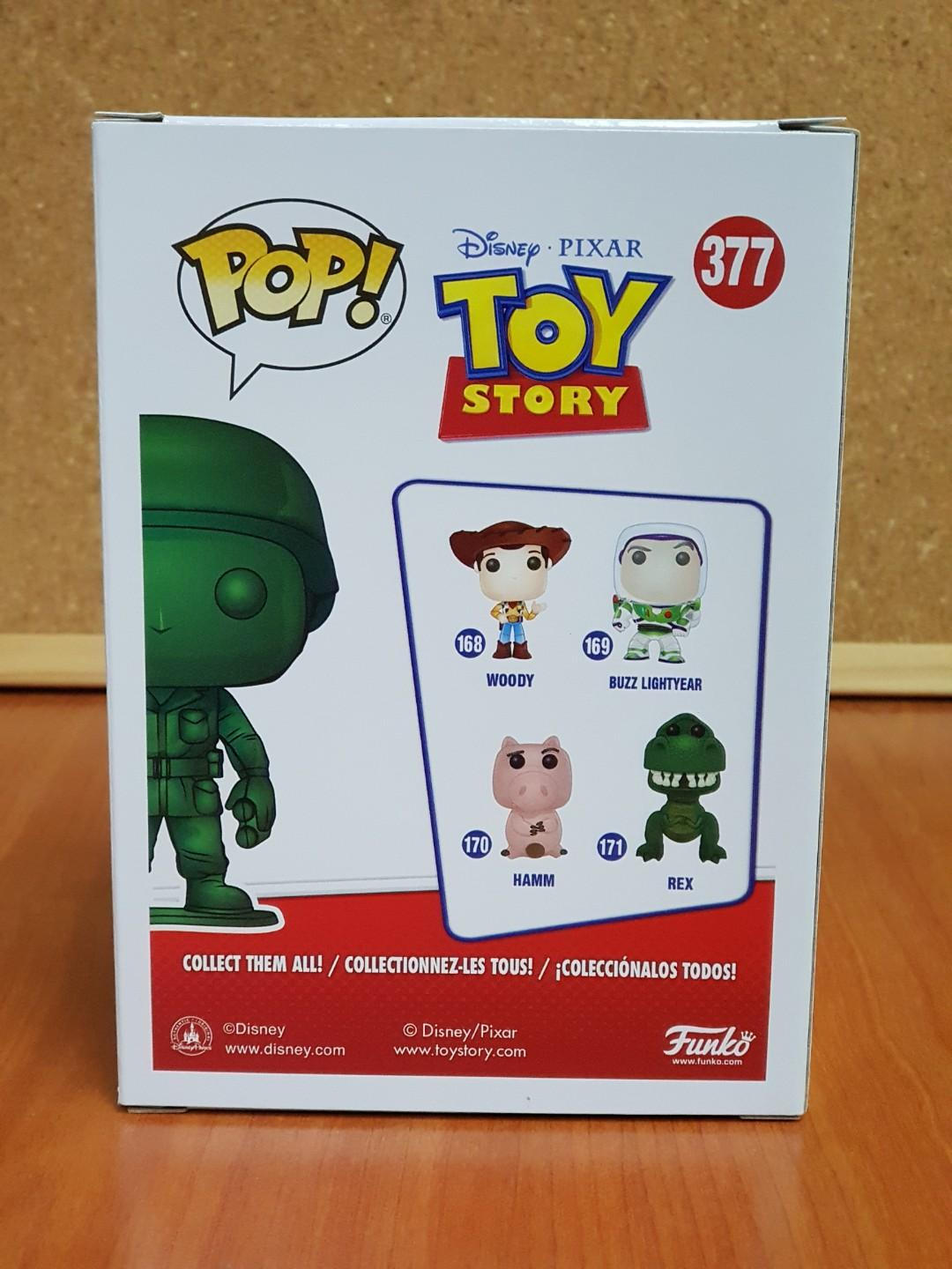 Funko Pop Disney : Toy Story - Metallic Army Man ( Box Lunch Exclusive / Toy Story Land Grand Opening 2018 ) #377