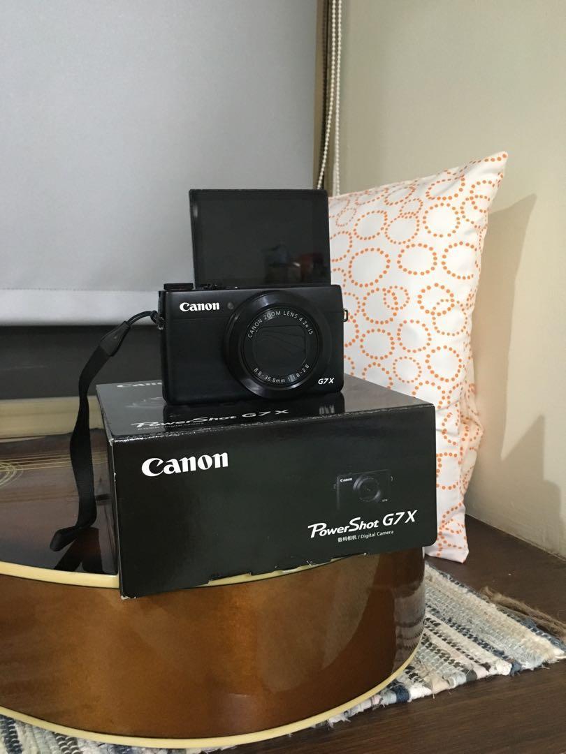 G7x Canon Powershot Vlogging Camera