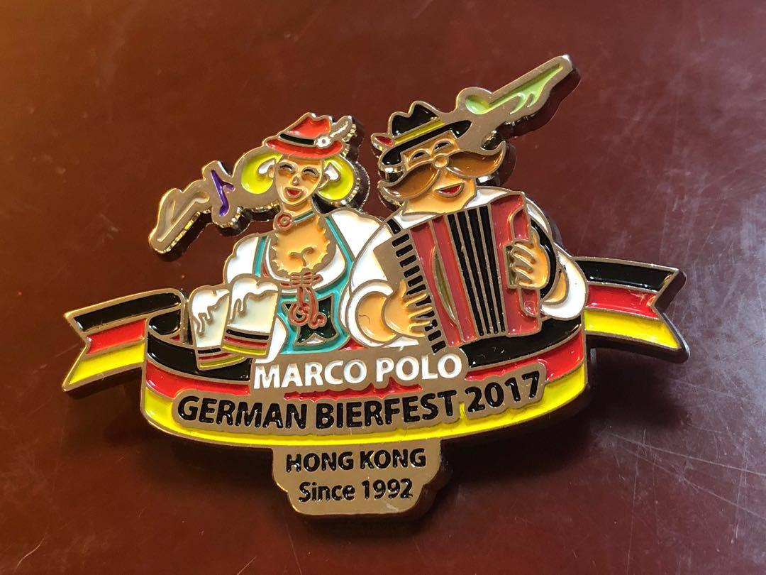 German Bierfest 2017 Pin -Marco Polo