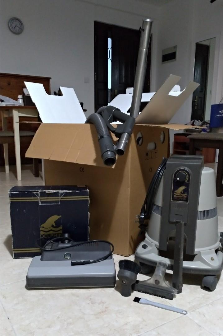 German-made hydro vacuum cleaner