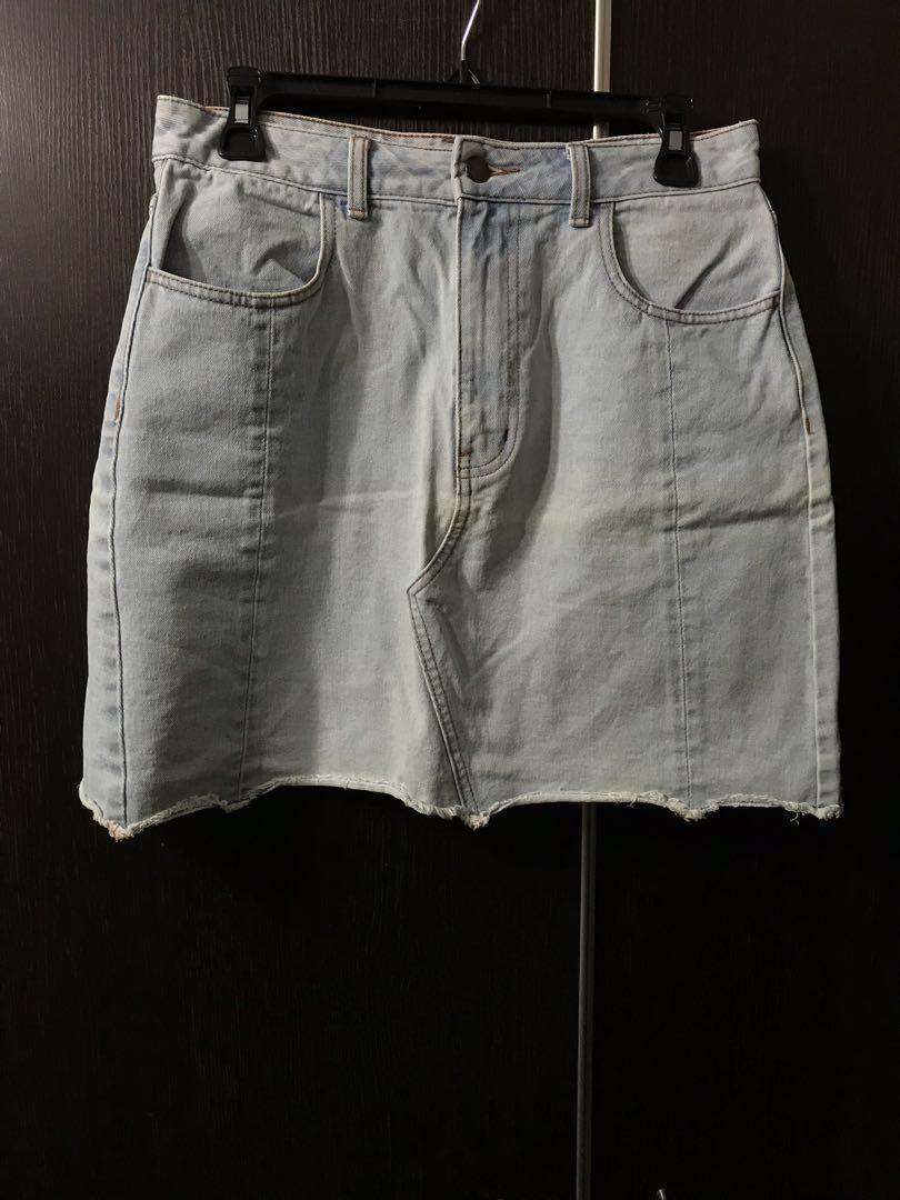 GU 牛仔短裙 #summer19