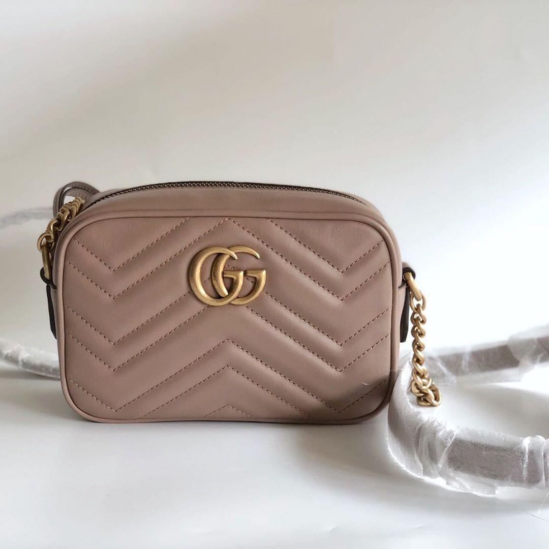 Gucci Mini Cam Bag Beige only