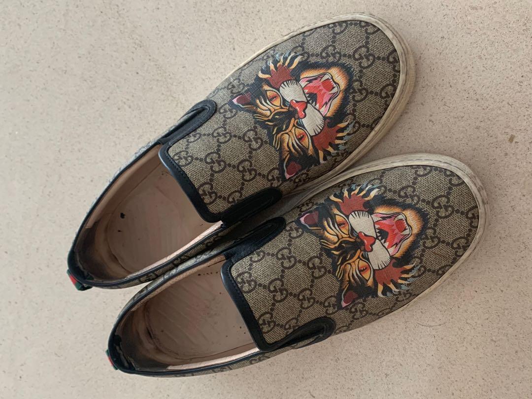 b80b72c74 Gucci sneakers, Men's Fashion, Footwear, Sneakers on Carousell