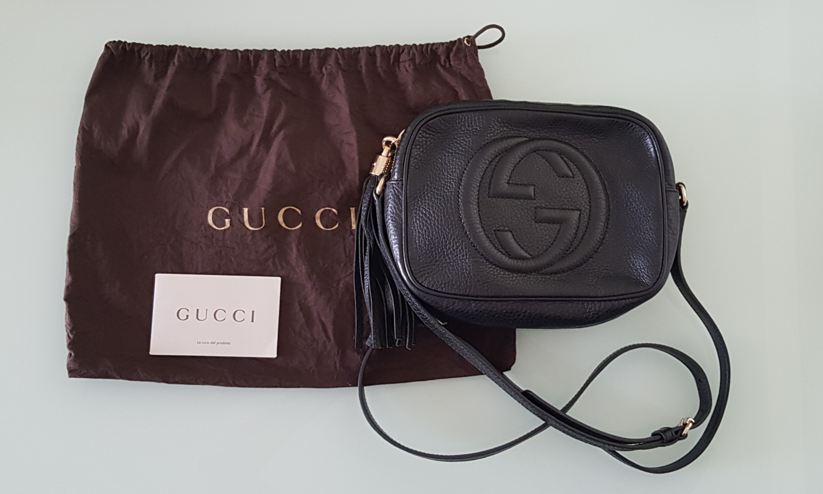 d2b50f11e21a0a 100% Authentic Gucci Soho Disco Bag, Luxury, Bags & Wallets, Sling Bags on  Carousell