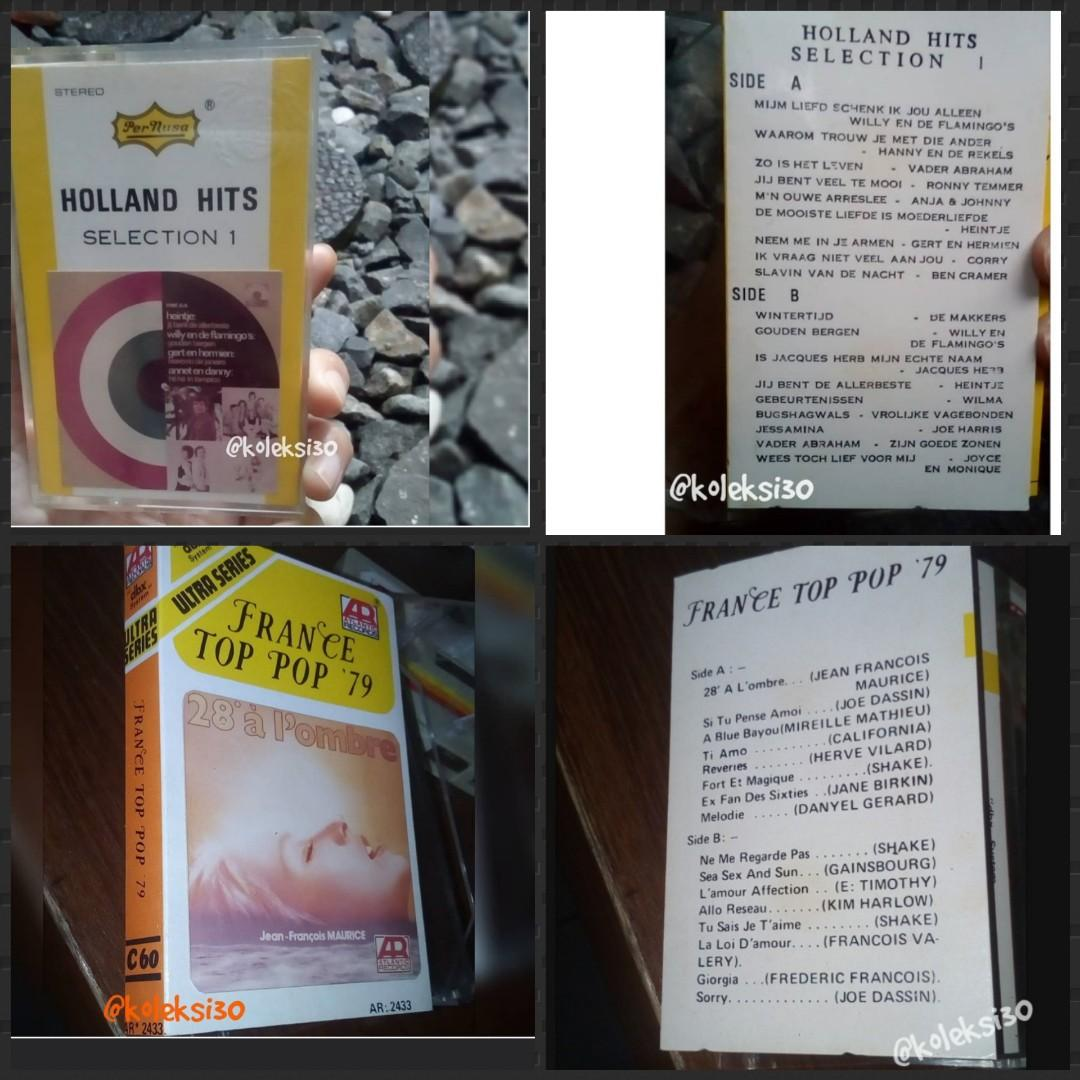 Holland Hits & France Top Pop