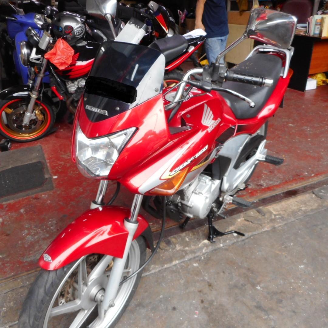 Honda CBF 150 COE expiry 8/6/2021
