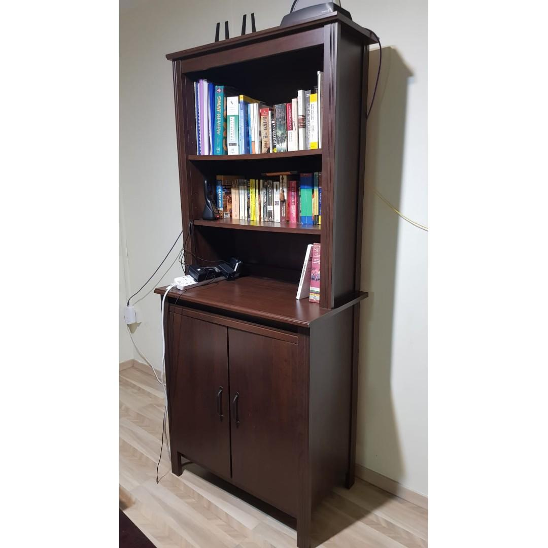 Ikea Brusali High Cabinet With Doors