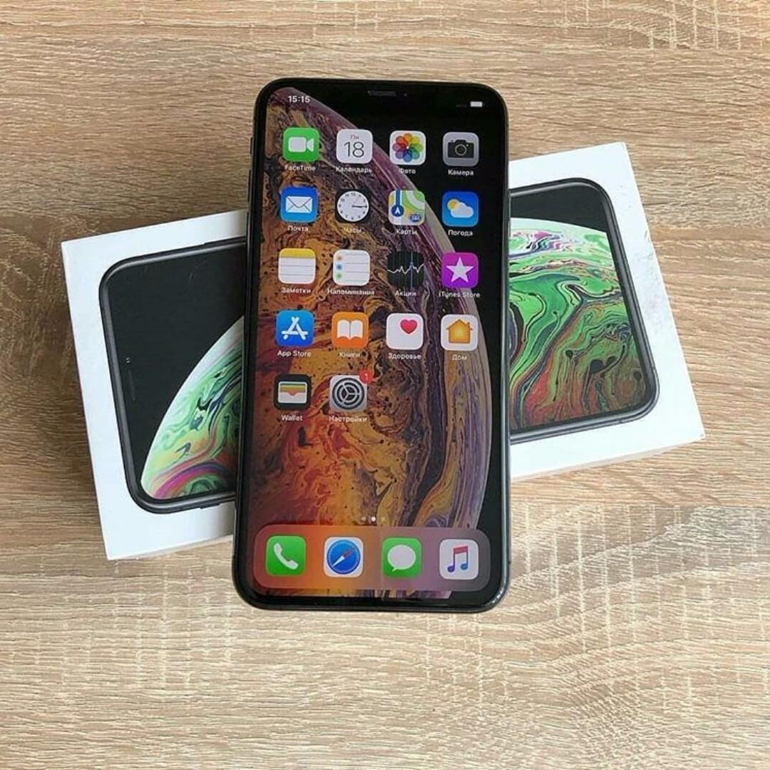 Iphone Xs Max 256GB Black