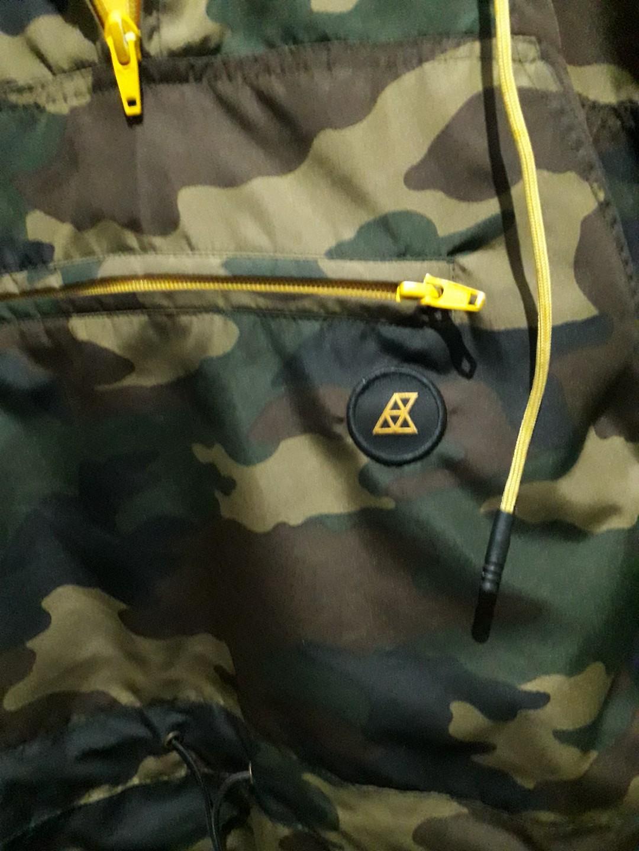 Jaket Cagoule Anorak Reclays Army