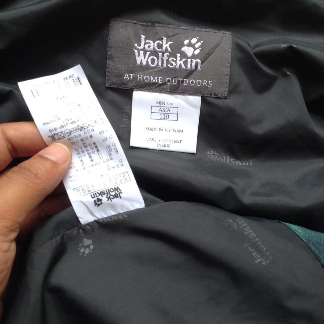 Jaket Jack Wolfskin size L